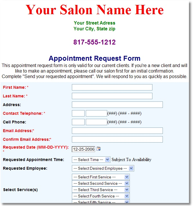Software Request Form Conference Room Example Custom Forms Ml
